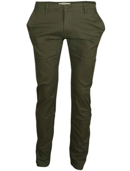 Чино панталон SK 9836 зелено каки 003