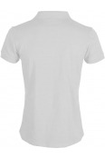Блуза с якичка Slim fit А125 бяла
