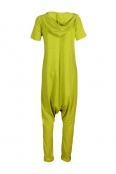 Дамски гащеризон МАРАЯ жълто зелен неон