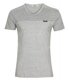 Блуза slim fit  2012 сива