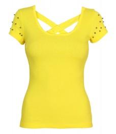 Блуза ПУДРА B - 1 жълта