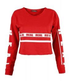 Дамска блуза РИАЛ червена