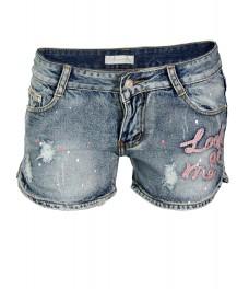 Дънкови къси панталони 5082