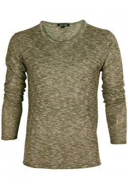 Блуза S1706 зелен меланж 003