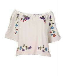Дамска блуза ПАРМА бяла