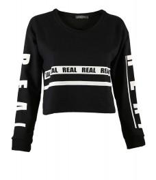 Дамска блуза РИАЛ черна