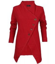 Дамско сако РИНО А-1 червен меланж