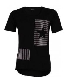 Мъжка тениска 9089 черна