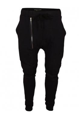 Панталон от трико 9206 черен