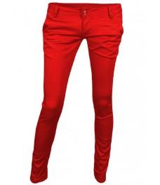 Дамски панталон 2935 червен