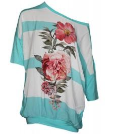 Дамска блуза ЛАУРА мента
