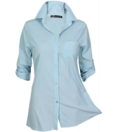 Дамска риза СИДНЕЙ А - 3 синя