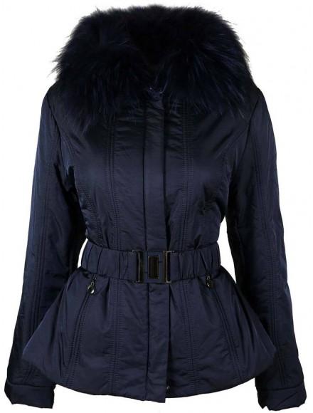 Дамско яке 1032 тъмно синьо