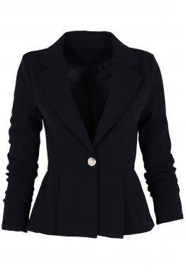 Дамско сако МЕЛИНА тъмно синьо
