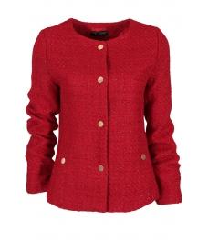 Дамско сако 19013-8 червено