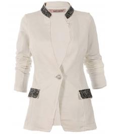 Дамско сако БЛИНГ бяло