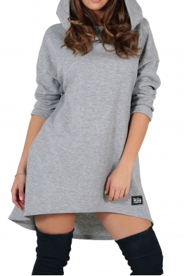 Дамска рокля - туника CONTESSA сива