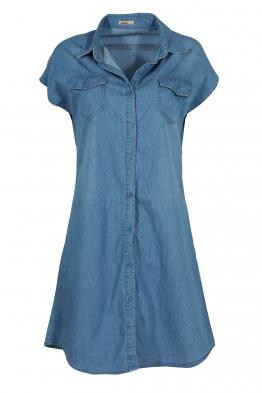 Дънкова рокля-туника 2851