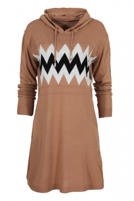 Дамска туника - рокля 519 капучино
