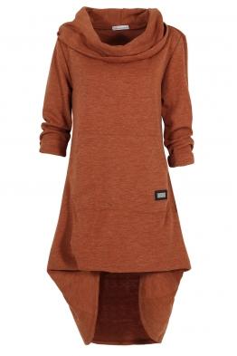 Дамска рокля - туника CAMMO брик