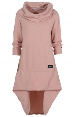Дамска рокля - туника CAMMO розова