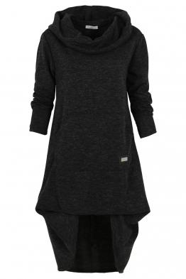 Дамска рокля - туника CAMMO черна