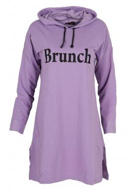 Дамска туника - рокля BRUNCH лилава