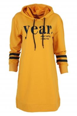 Дамска туника - рокля JEAR жълта