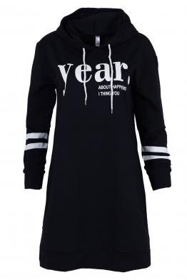 Дамска туника - рокля JEAR тъмно синя