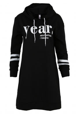 Дамска туника - рокля JEAR черна
