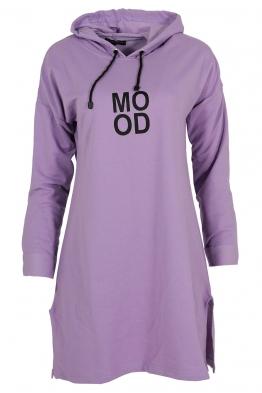 Дамска туника - рокля MOOD лилава