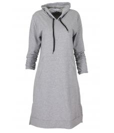 Дамска туника - рокля МОУД сива